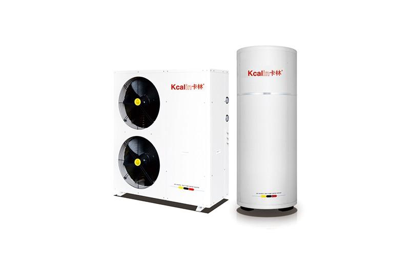 户式采暖热泵机分体式