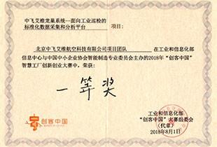 创客中国大赛奖