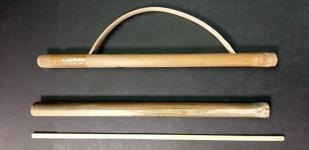 制作竹弓枪