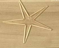水滴牙签五角星