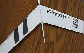 制作火柴动力纸飞机