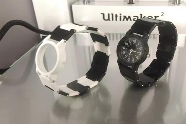 德国设计师3D打印定制手表,凸显你的与众不同
