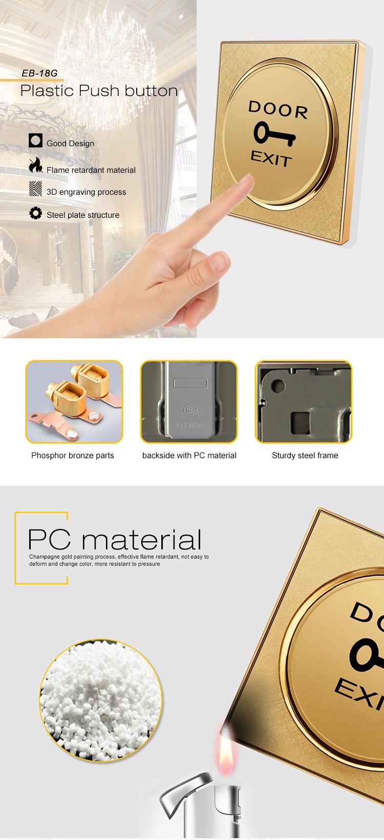 Plastic Push button