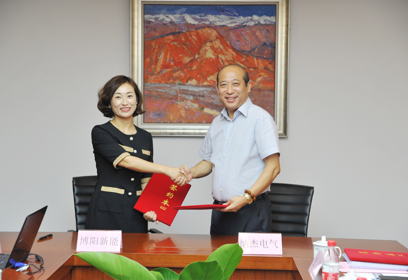 上海电气20MW分布式光伏发电项目合作签约圆满举行