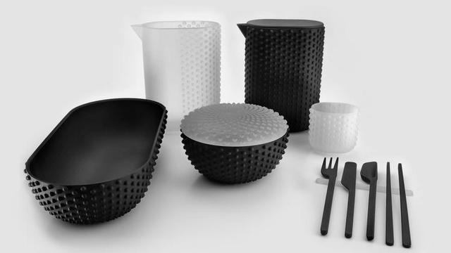 """""""一物多用"""",是这套3D打印家居用品的最大特点"""
