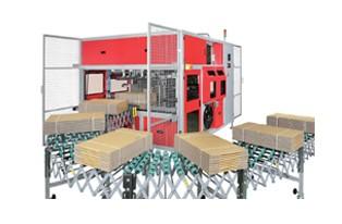 ---TP-CIL 系列(双机头) ---瓦楞纸箱高速全自动捆包机