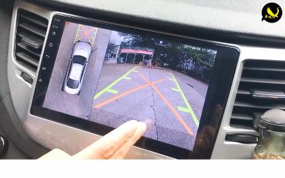 雪佛兰探界者加装车视野3D-8000全景,更安全,更智能
