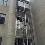 鋼架式傳菜梯