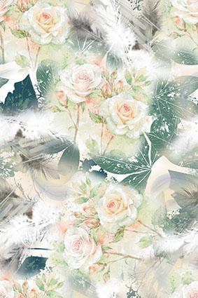 高雅气质大气洁白 花卉