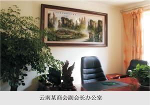 云南某商会副会长办公室