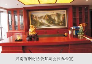 云南省钢材协会某副会长办公室