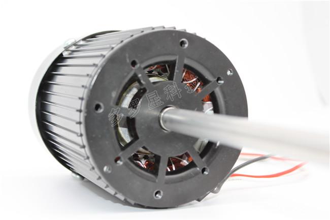 无刷直流惯展电机的构造和优势