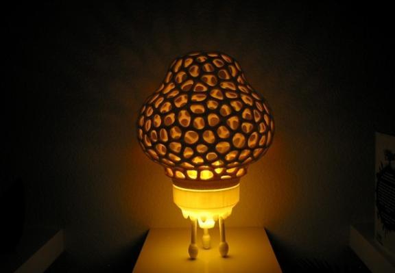 """用3D打印""""孵化""""家居艺术品,怎么能这美!"""