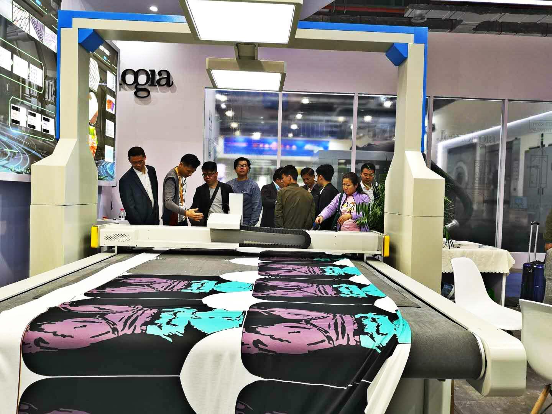 睿达科技绽放2018中国国际纺织机械展