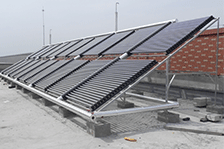 太阳能热水系统改造、以旧换新