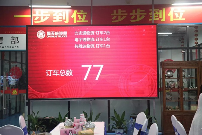 中国重汽新豪瀚N系列全新上市品鉴会暨订购会圆满成功