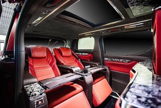 丰田|埃尔法改装风鸿版总裁商务房车
