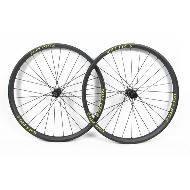 27.5er 27mm wide MTB carbon wheelset with enduro bearing hub
