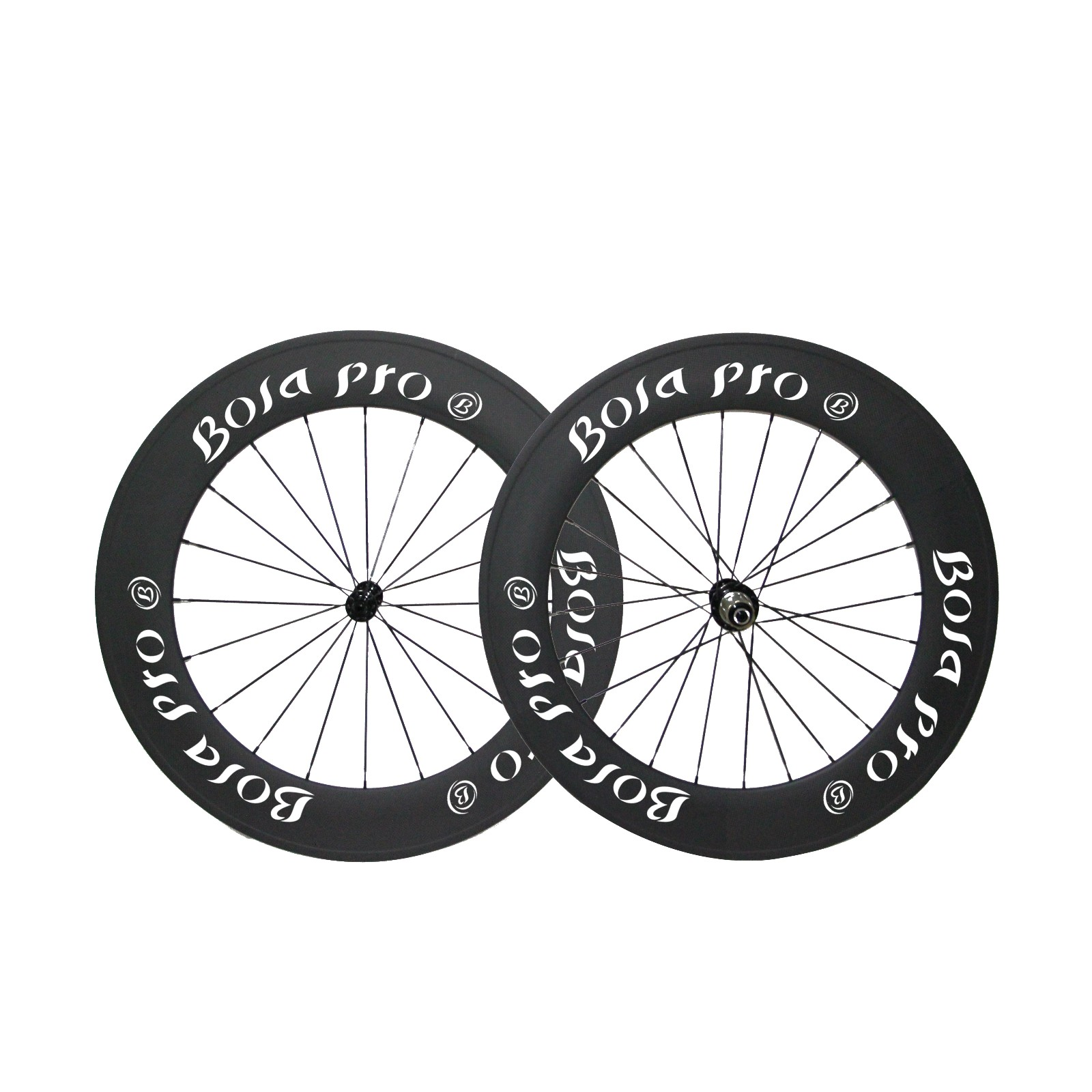 700C 88mm carbon wheelset with ceramic bearing hub