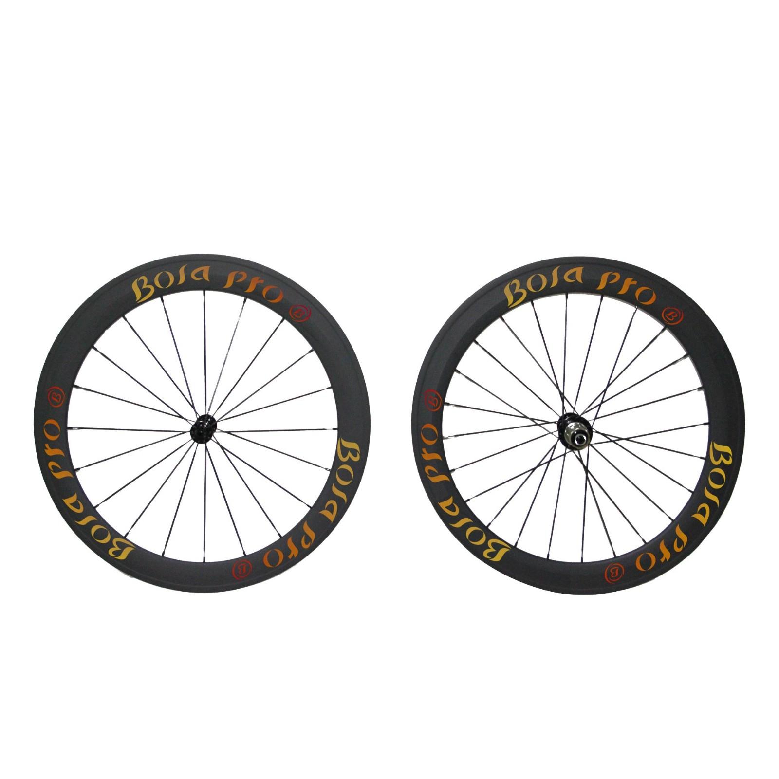 700C 50mm carbon wheelset with ceramic bearing hub