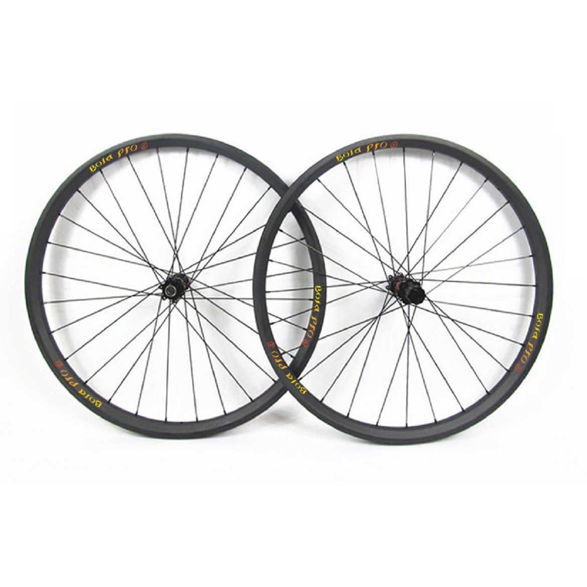 29er 27mm wide MTB carbon wheelset with enduro bearing hub