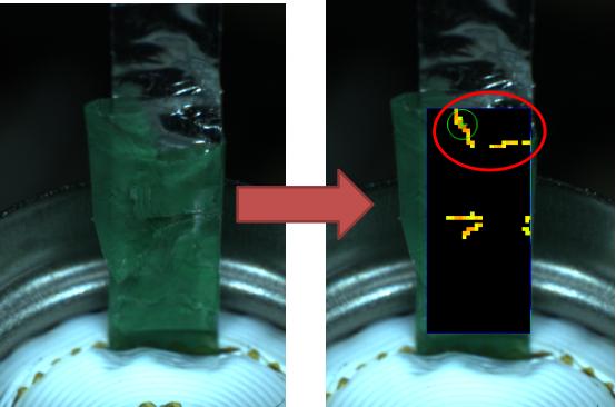 电池极耳贴胶外观检测