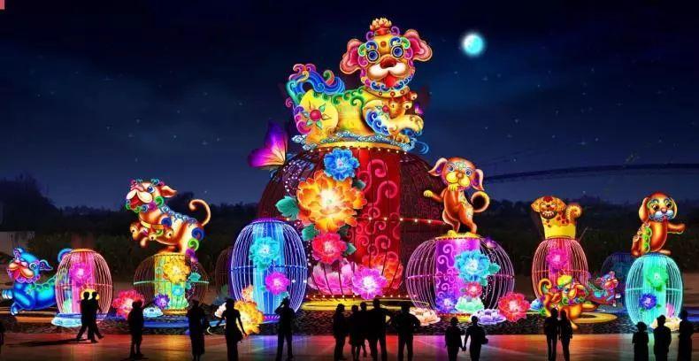 新春哪里最酷?正定裸眼3D看古城、灯光欢乐游、梦幻单车体验