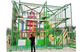 河南鹿邑县户外儿童拓展乐园案例