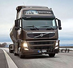 Volvo truck top cover 3D scanning solution