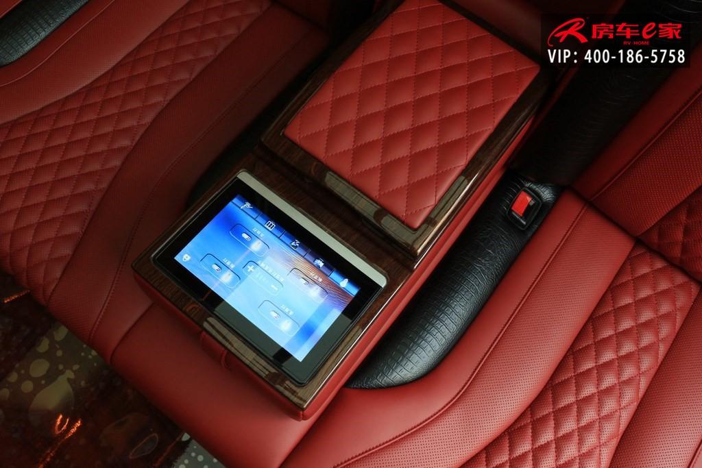 奔驰 斯宾特总裁版4座酒红加黑商务房车