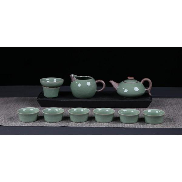 哥窑和乐融融10入茶具