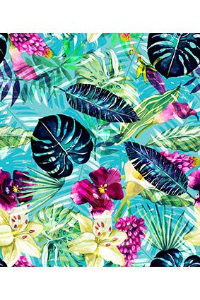 炫彩斑斓效果花卉