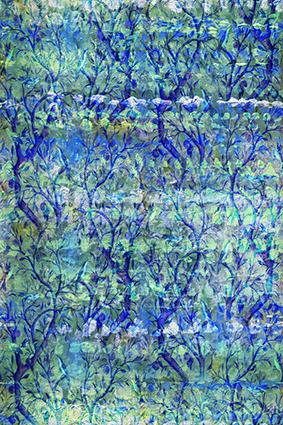 颜料纹理抽象图绘