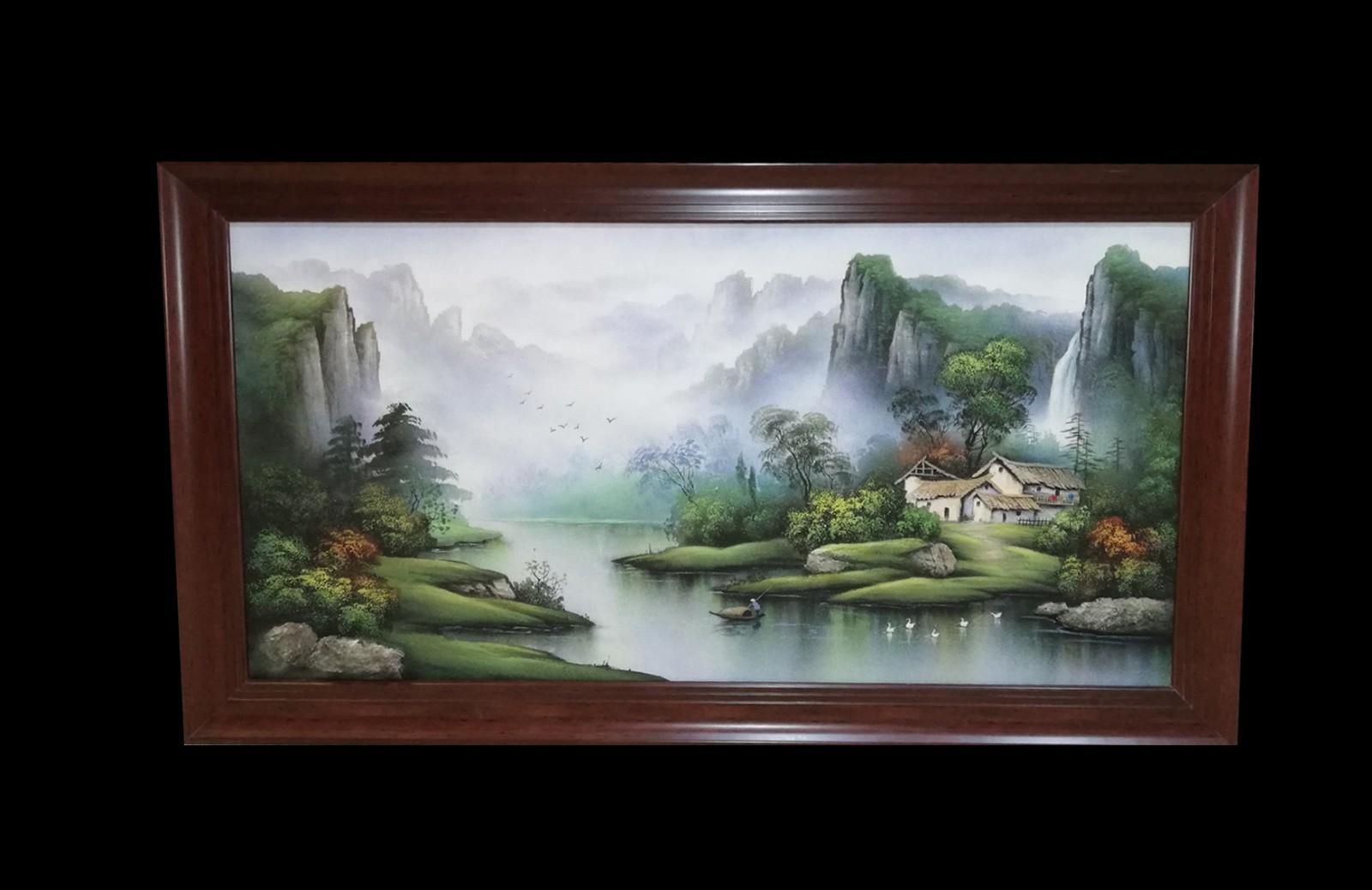 青山绿水居福地