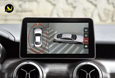 車視野360度全景3D-8000