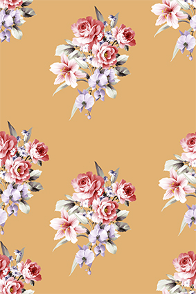 真彩炫彩手绘花