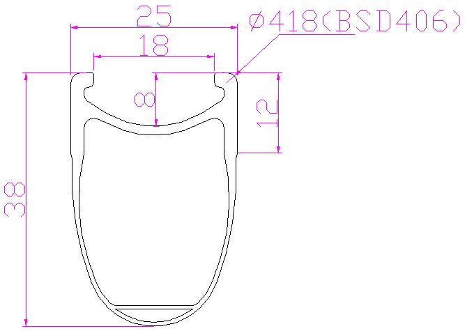 """R38C-25-406  20"""""""