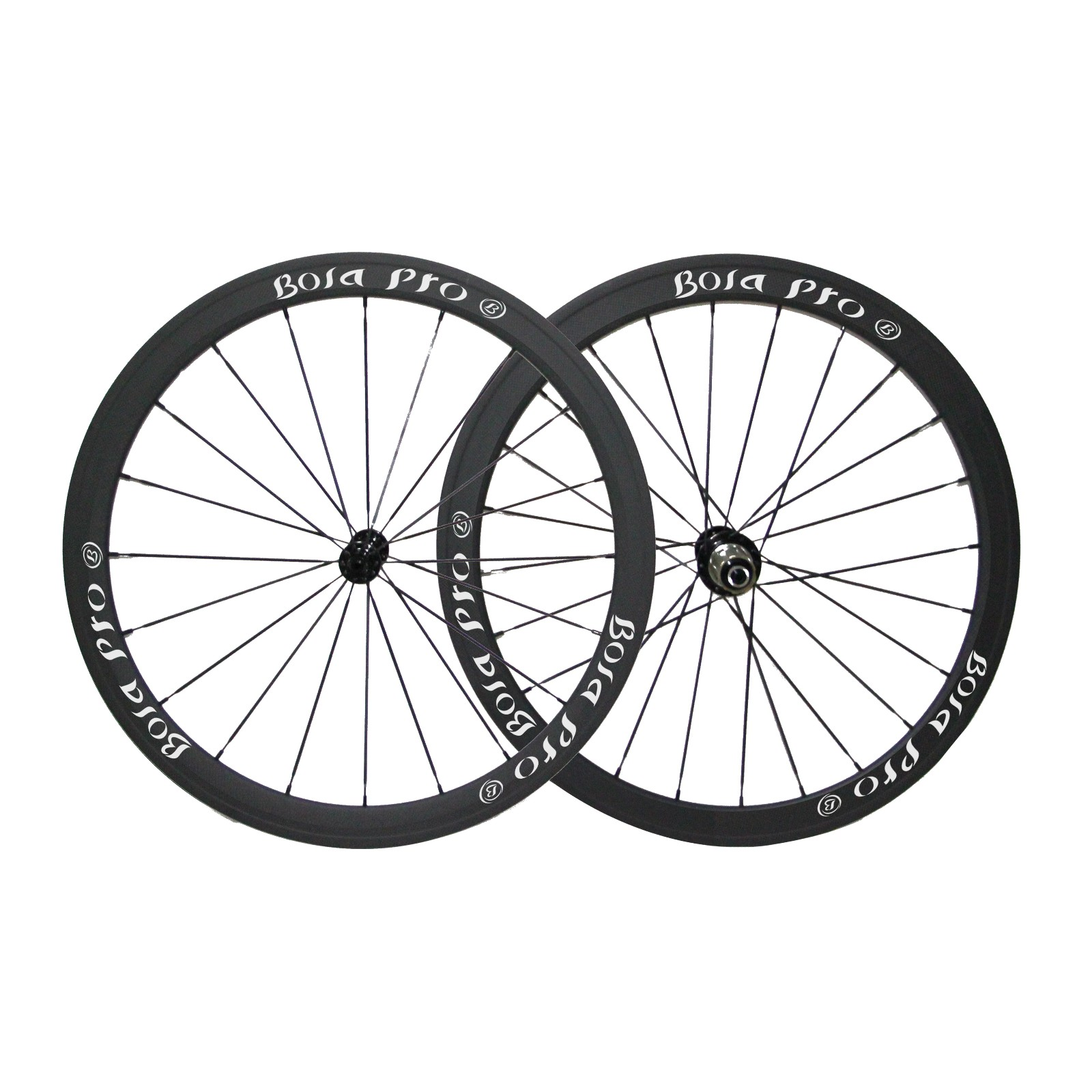 700C 38mm carbon wheelset with carbon straight pull hub