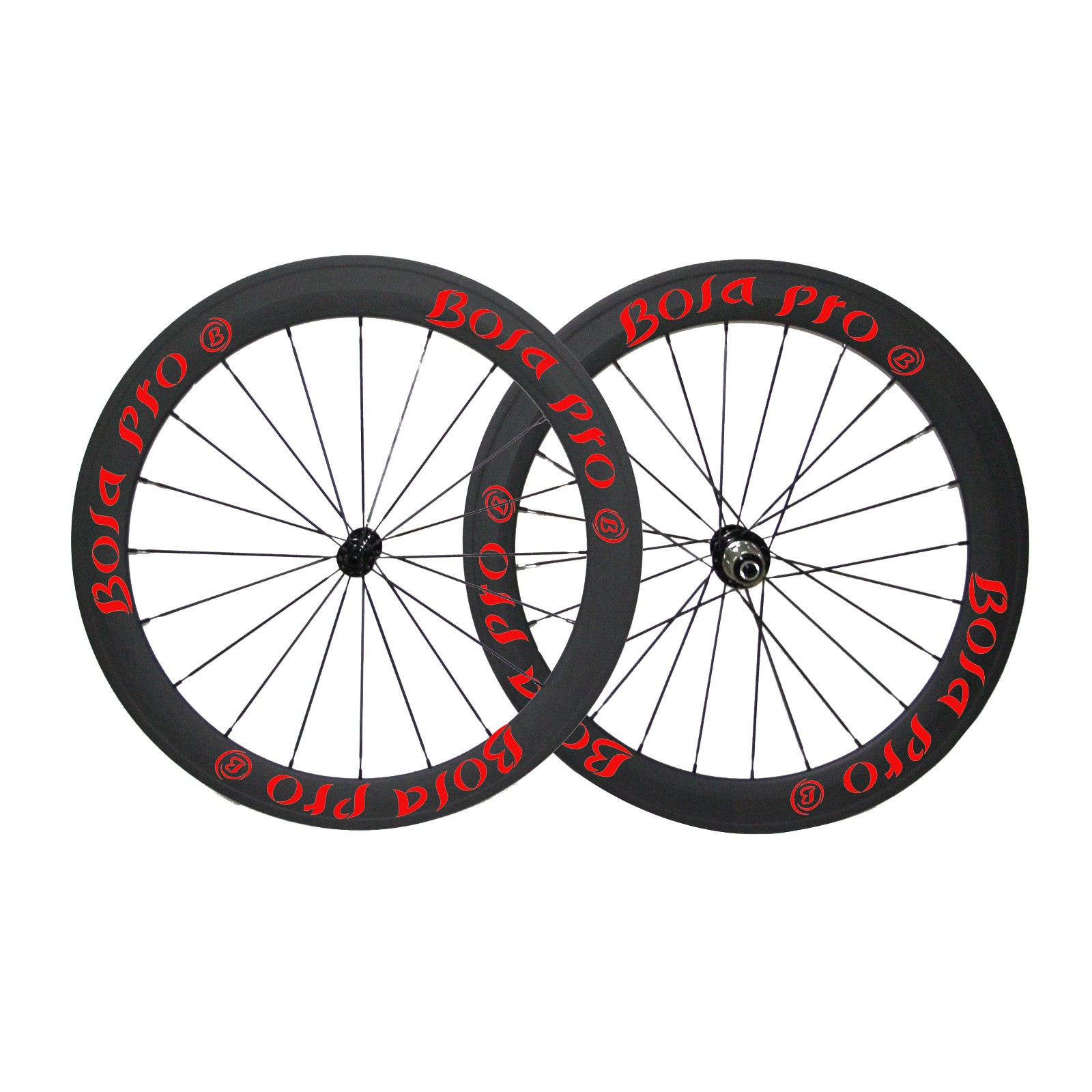 700C 50mm carbon wheelset with  Novatec A271/372