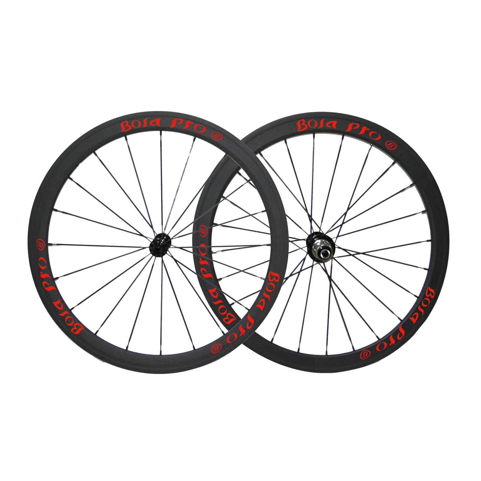 700C 38mm carbon wheelset with ceramic bearing hub