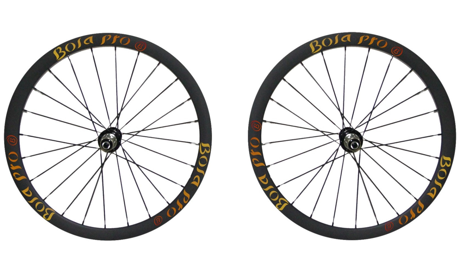 700C 35mm carbon wheelset with disc brake hub