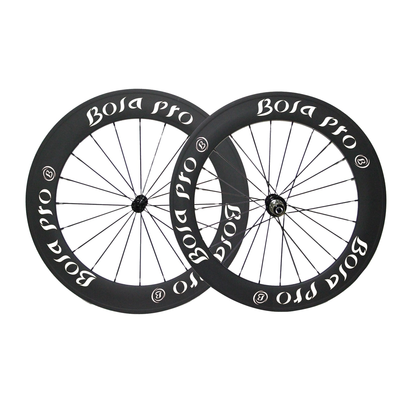 700C 60mm carbon wheelset with Novatec A271/F372 hub