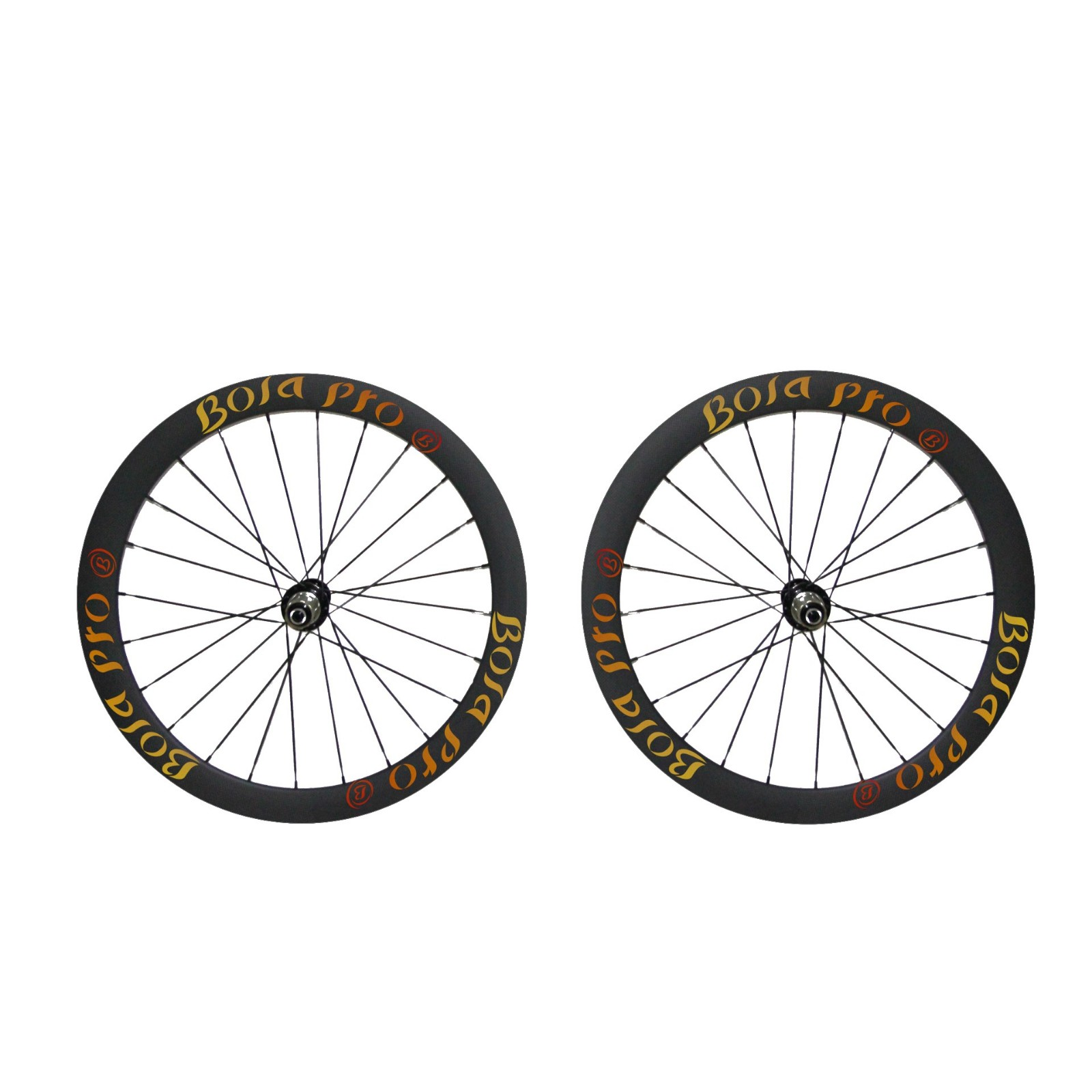 700C 45mm carbon wheelset with disc brake hub