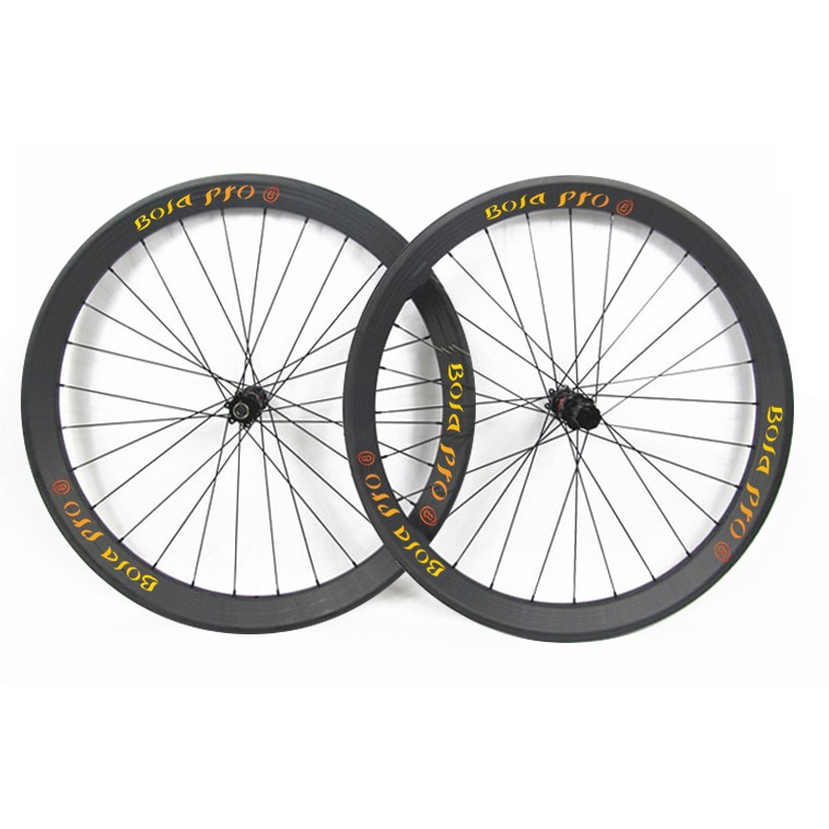 27.5er 35mm wide MTB carbon wheelset with enduro bearing hub