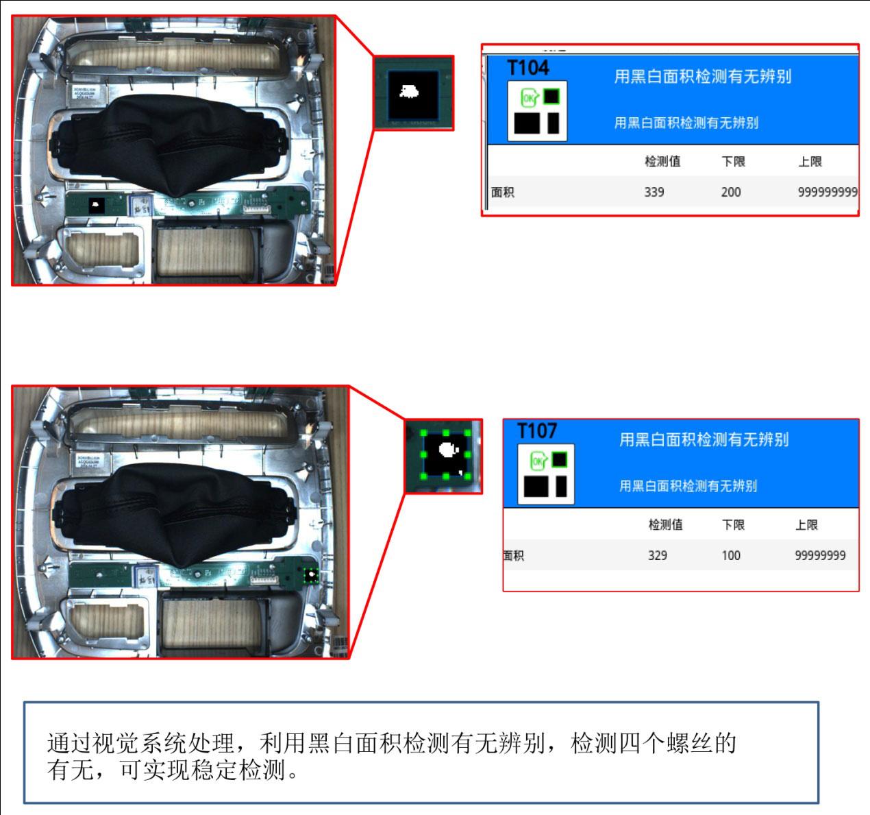 金属机箱尺寸视觉检测