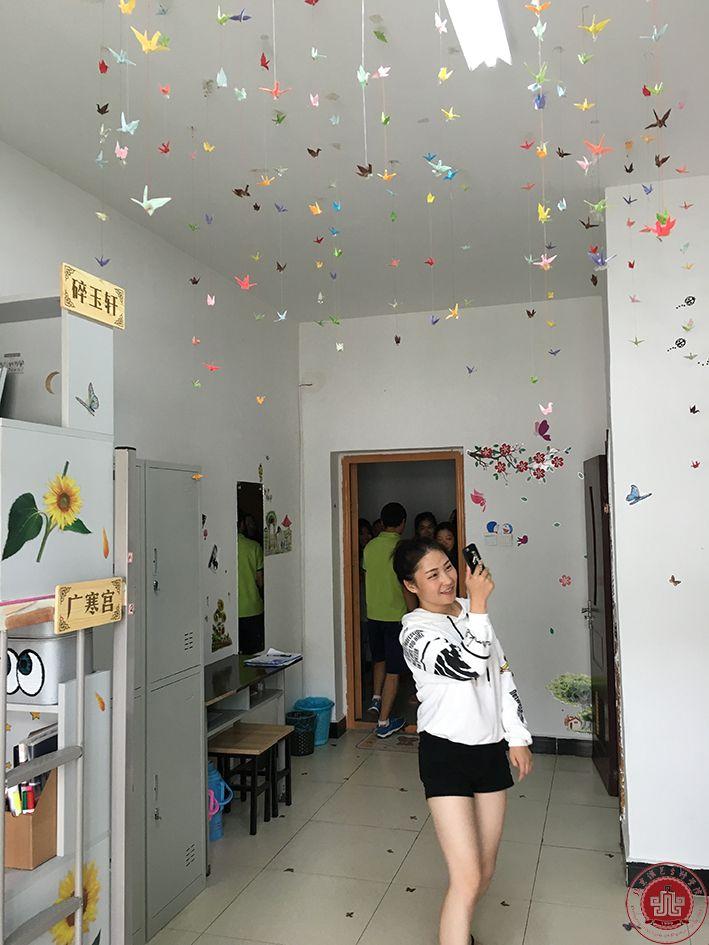 学院学生公寓文化节部分优秀宿舍!