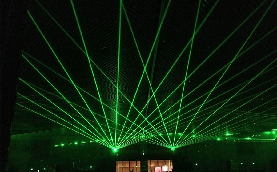 签约安徽宣城单绿地标激光工程
