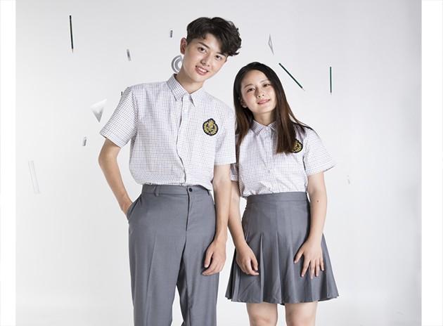 中学生夏季衬衣