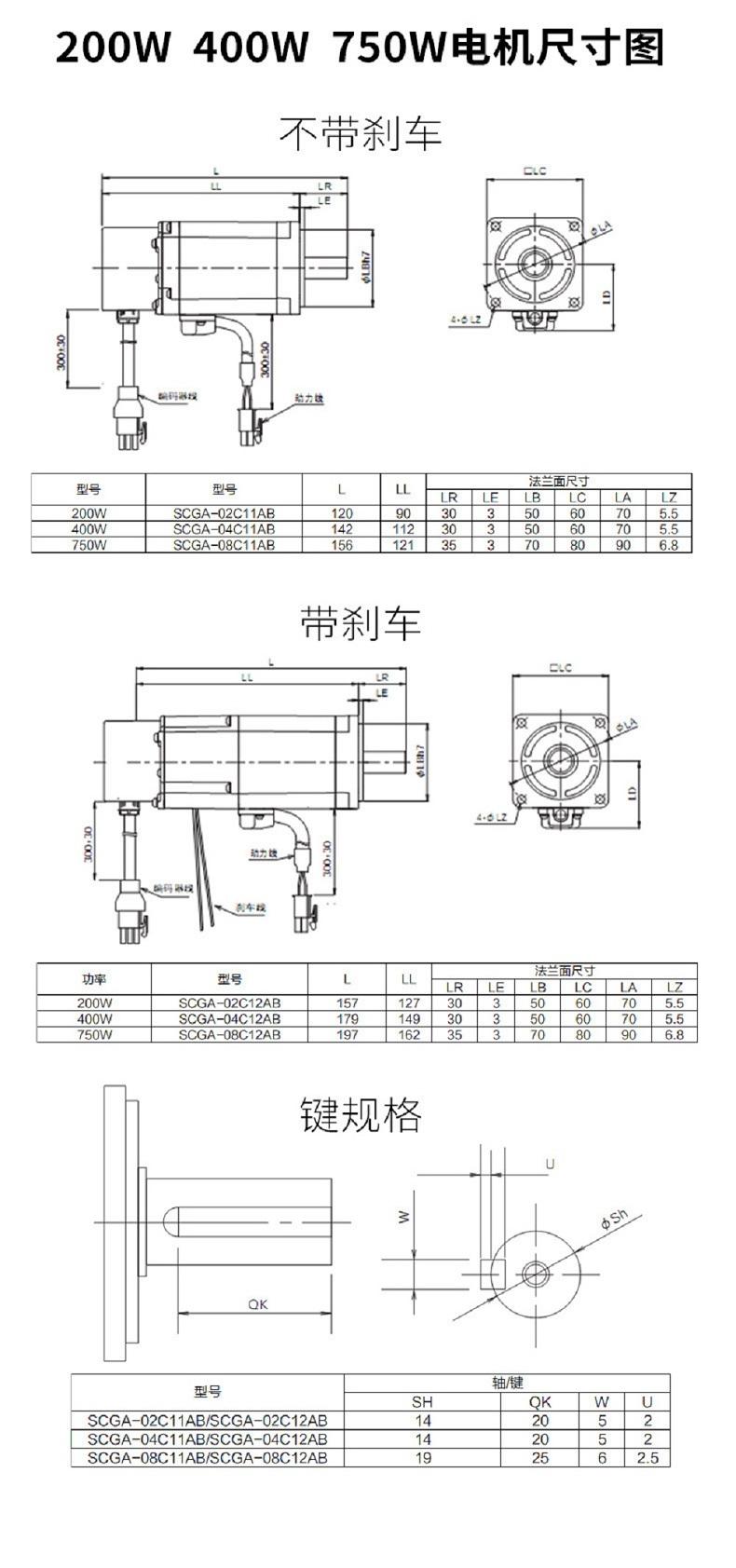 拓达伺服驱动器SGMS系列