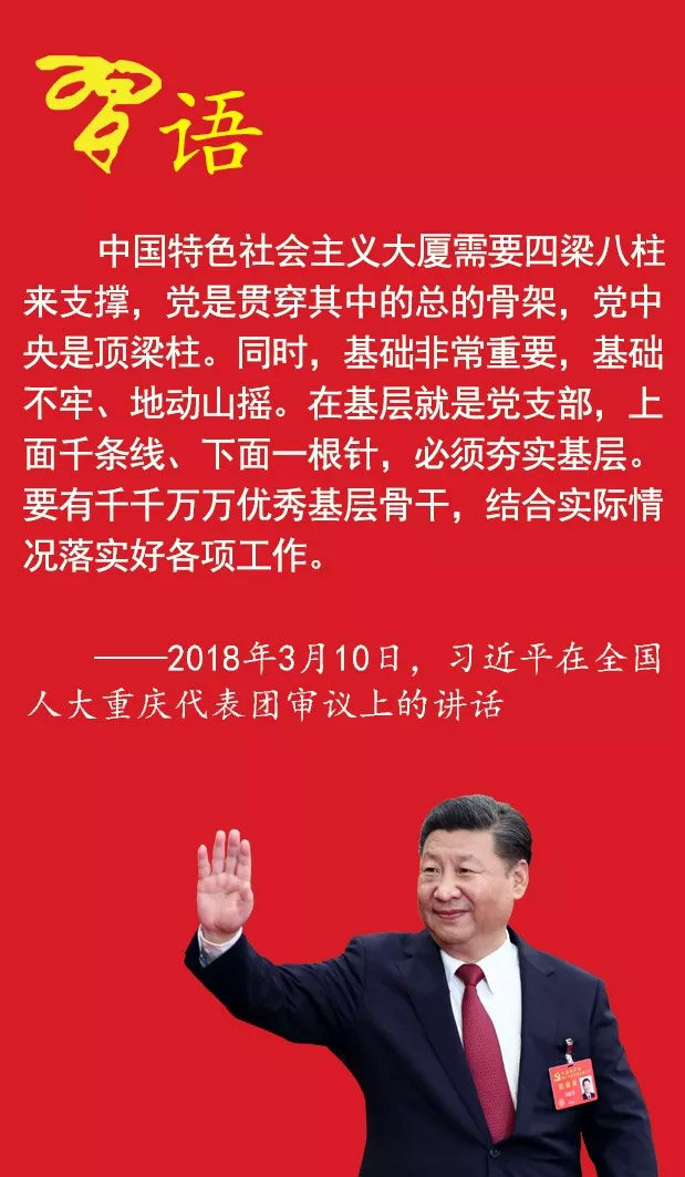 关于党支部建设,习近平总书记这样说